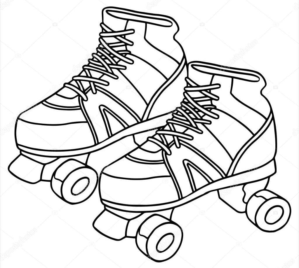 Depositphotos 65942637 Stock Illustration Roller Skate Cartoon Illustration Isolated Neighborhood House Of Milwaukee